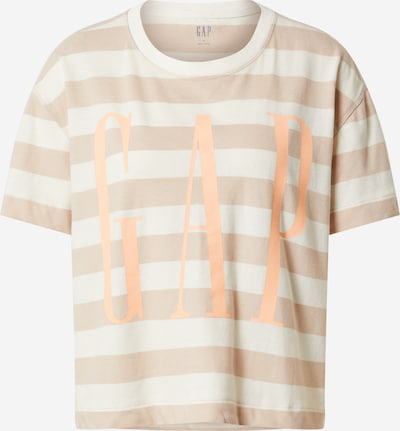 GAP T-shirt 'BOXY' en beige / blanc cassé, Vue avec produit