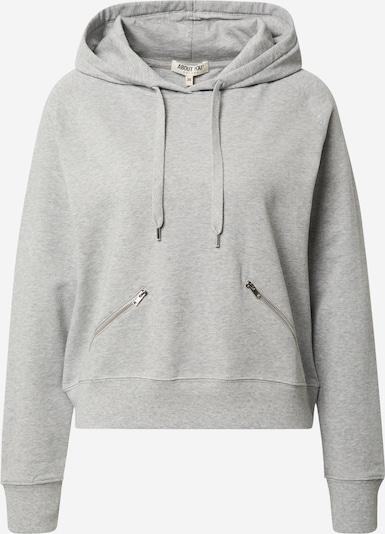 ABOUT YOU Sweatshirt  'Hedda' in graumeliert, Produktansicht