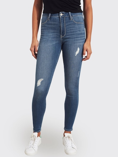 HOLLISTER Jeans 'MEDIUM DEST' in blue denim, Modelansicht