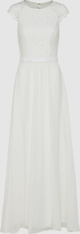 Unique Abendkleid mit Spitze in weiß  Neu in diesem Quartal
