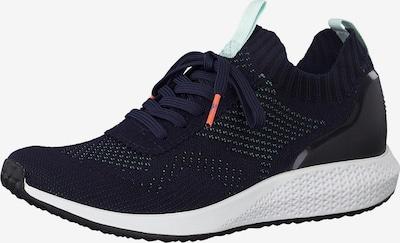 TAMARIS Sneakers laag 'Tamaris Fashletics' in de kleur Kobaltblauw / Mintgroen, Productweergave