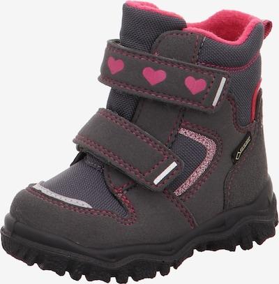SUPERFIT Schuh in anthrazit / pink, Produktansicht
