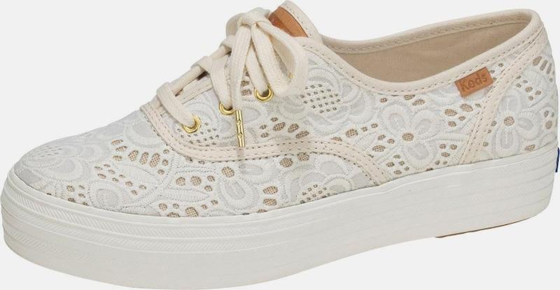 KEDS Sneaker 'Triple Embroidered Crochet'