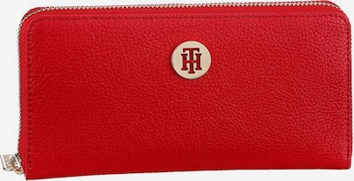 TOMMY HILFIGER Geldbörse 'Core' in gold / rot, Produktansicht