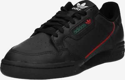 ADIDAS ORIGINALS Sneaker 'Continental 80' in grün / rot / schwarz / weiß, Produktansicht