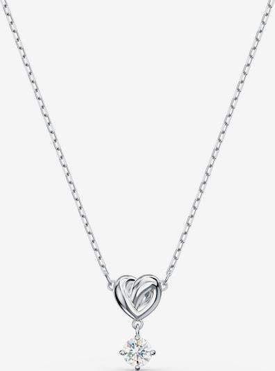 Swarovski Chaîne 'Lifelong Heart' en gris, Vue avec produit