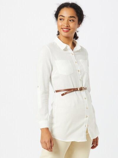 Hailys Bluse 'Larissa' in weiß, Modelansicht