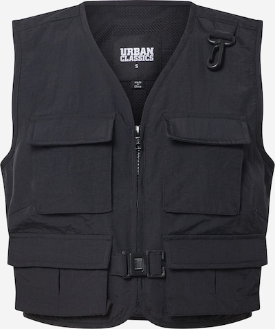 Urban Classics Weste 'Ladies Short Tactical Vest' in schwarz, Produktansicht