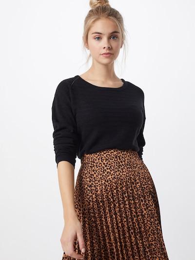 JACQUELINE de YONG Pullover  'GADOT' in schwarz, Modelansicht