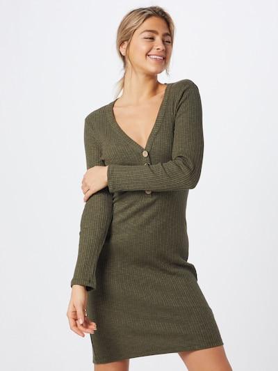 Sublevel Kleid 'DOB' in grün, Modelansicht
