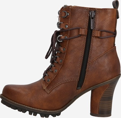 MUSTANG Stiefelette in karamell / taupe / anthrazit, Produktansicht