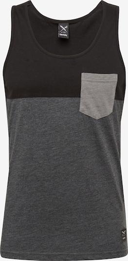 Iriedaily Trägershirt in dunkelgrau / schwarz, Produktansicht