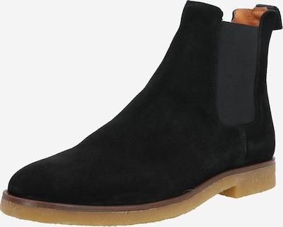 Bianco Chelsea Boots 'Biadino' in schwarz: Frontalansicht
