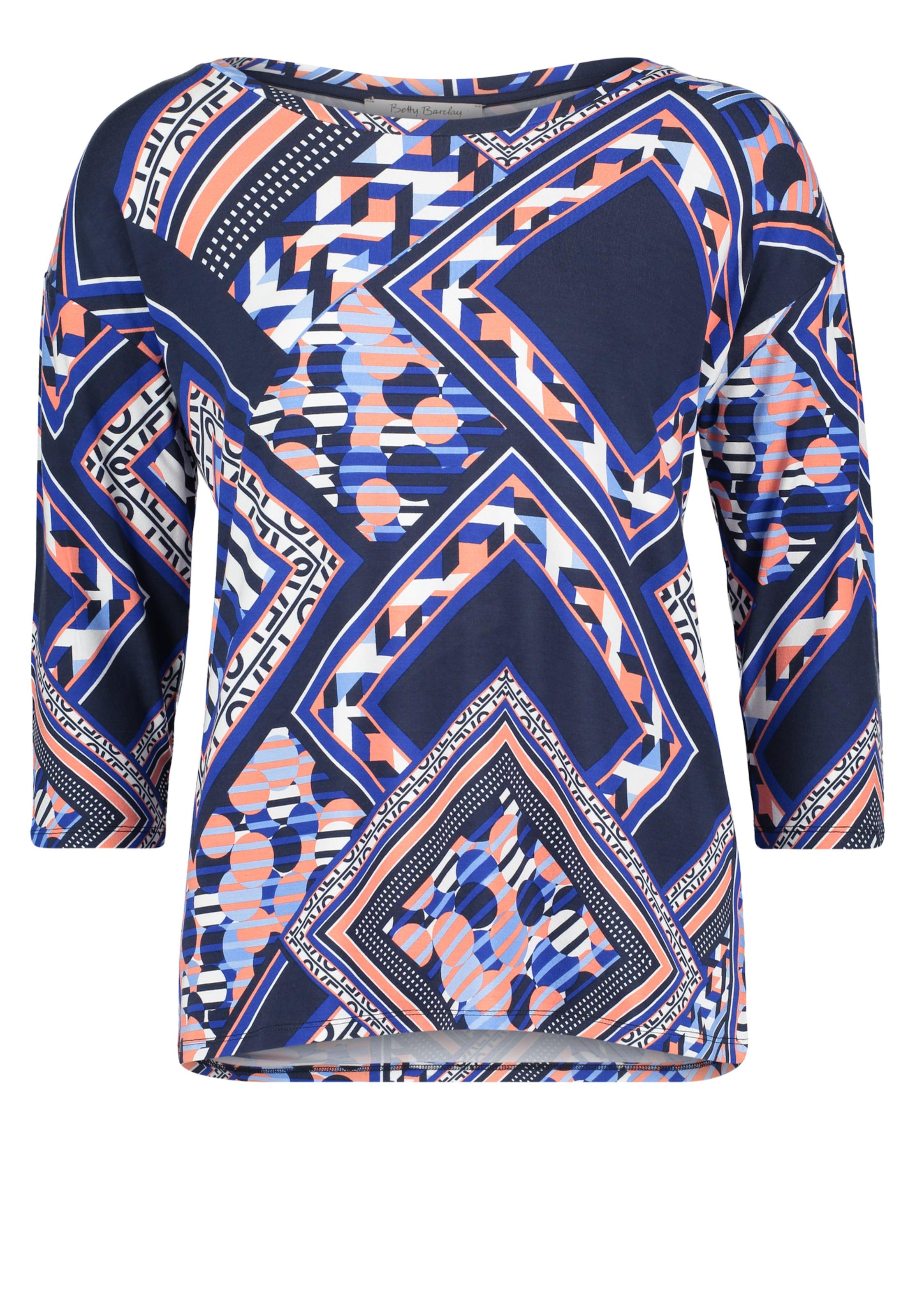 Weiß Barclay Lachs Shirt Betty In BlauDunkelblau tsrxQdCBho