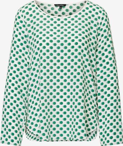 Marc O'Polo Halenka - zelená / barva bílé vlny, Produkt