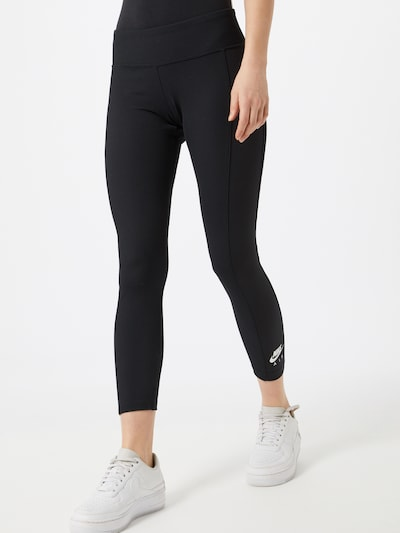 Nike Sportswear Leggings 'W NSW AIR LGGNG 7/8 RIB' in schwarz, Modelansicht