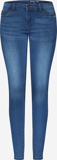 Noisy may Jeans 'NMEVE' in de kleur Blauw denim, Productweergave