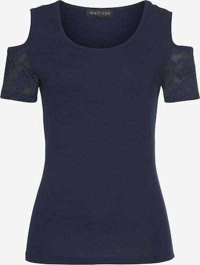 MELROSE Shirt in marine, Produktansicht