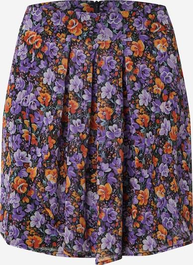 Trendyol Sukně - fialová / černá, Produkt