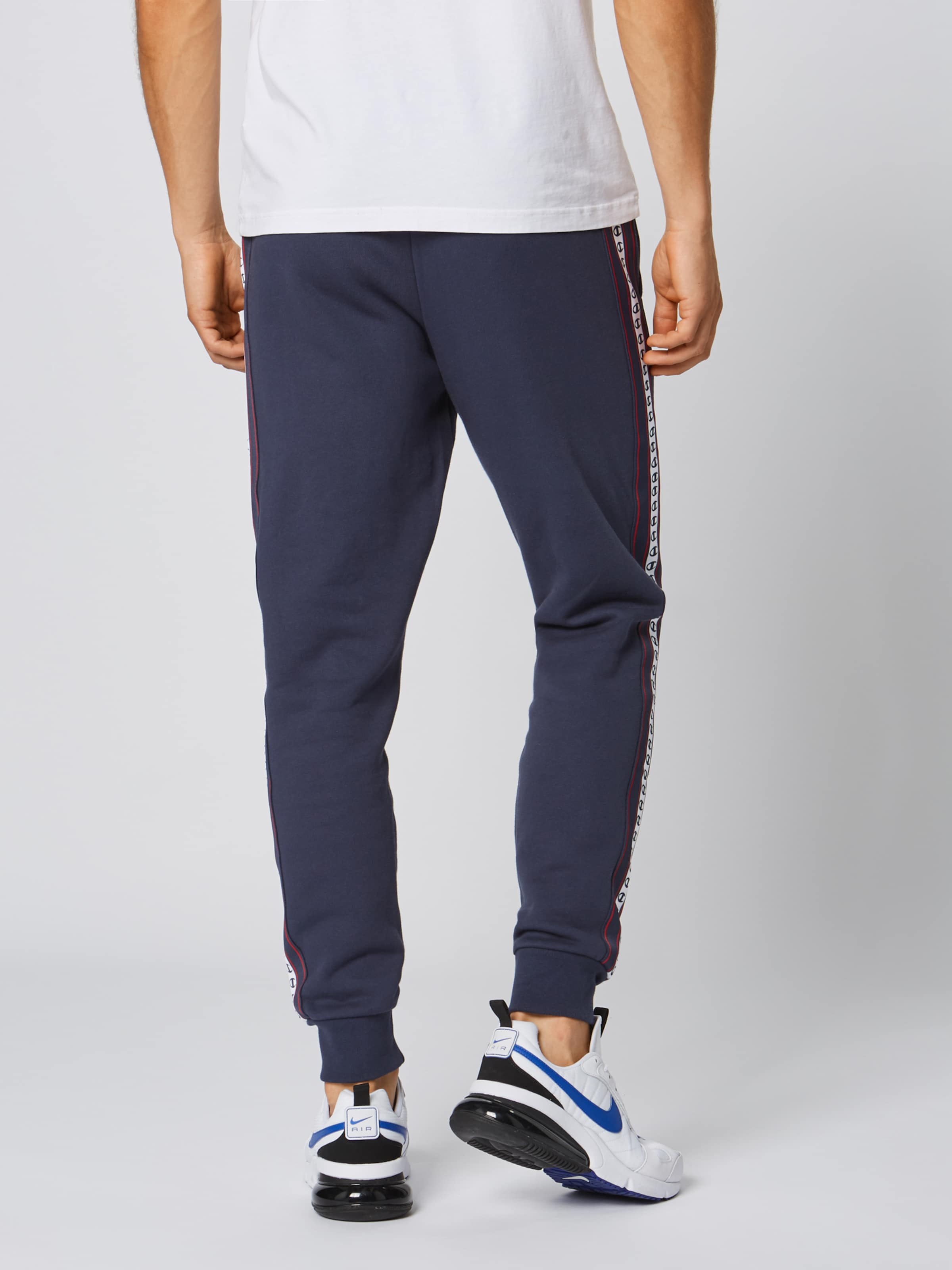 Athletic Bleu Champion En Nuit Authentic Cuff' Pantalon Apparel 'rib yP8OmvN0nw