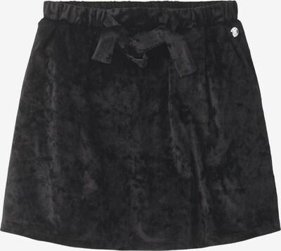 TOM TAILOR Röcke Rock im Samt-Look in schwarz, Produktansicht