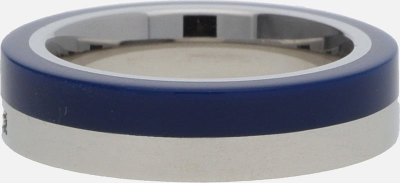 ESPRIT Fingerring Silber/Blau Marin 68 ESRG11565C