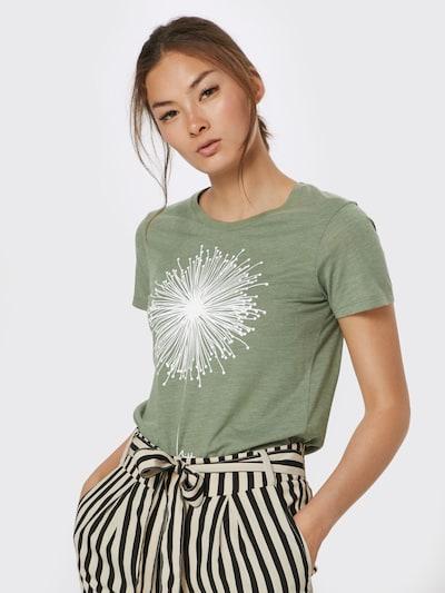 Iriedaily T-Shirt 'Blowball' in grün: Frontalansicht