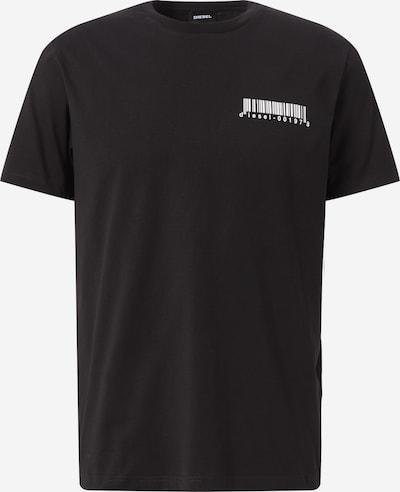 DIESEL Tričko - čierna / biela, Produkt