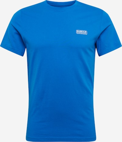 Barbour International T-Shirt 'International Small Logo Tee' in royalblau, Produktansicht