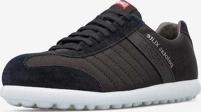 CAMPER Sneaker in anthrazit / schwarz: Frontalansicht