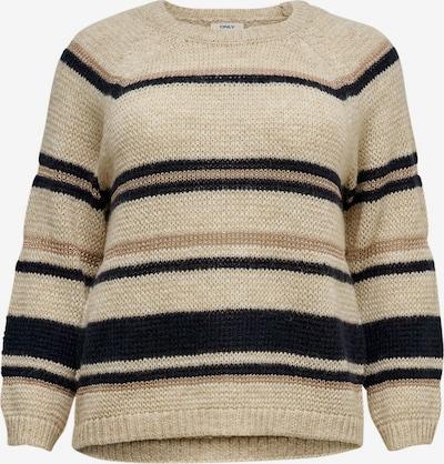 ONLY Carmakoma Sweter w kolorze beżowym, Podgląd produktu