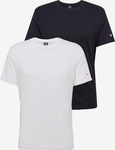 Champion Authentic Athletic Apparel Tričko - černá / bílá, Produkt