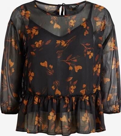 khujo Bluse ' KLEMENTINA ' in braun / orange, Produktansicht