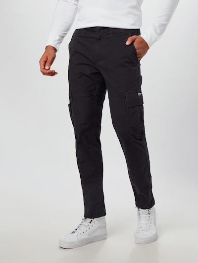 Superdry Hose in schwarz, Modelansicht