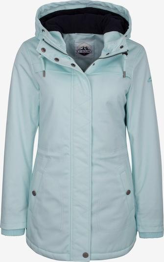 ICEBOUND Tussenjas in de kleur Azuur, Productweergave