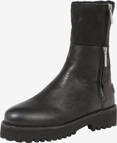 SHABBIES AMSTERDAM Stiefel 'BOOT DOUBLE ZIPPER' in schwarz, Produktansicht