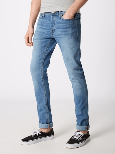 JACK & JONES Jeans 'Glenn Original AM 815' in de kleur Blauw denim, Productweergave
