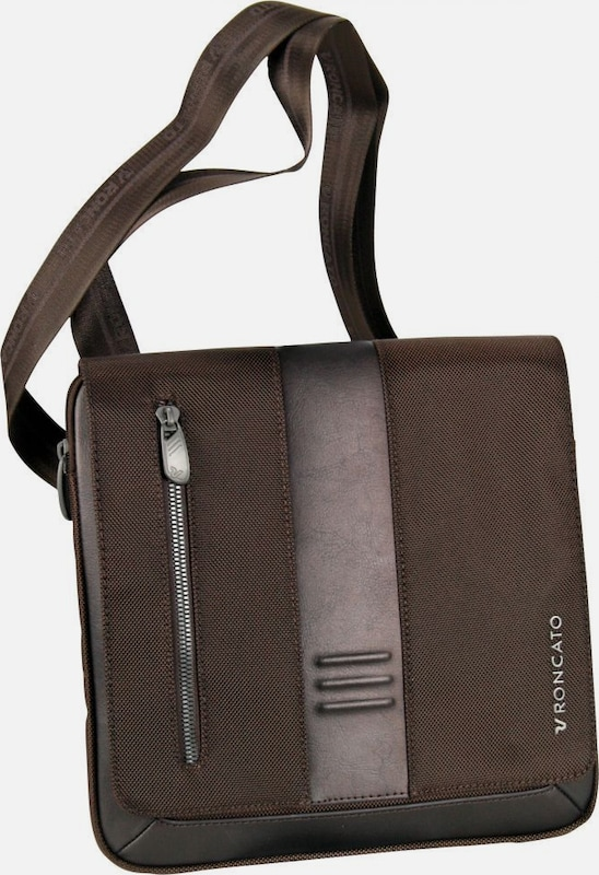 Roncato Flap Bag in braun: Frontalansicht