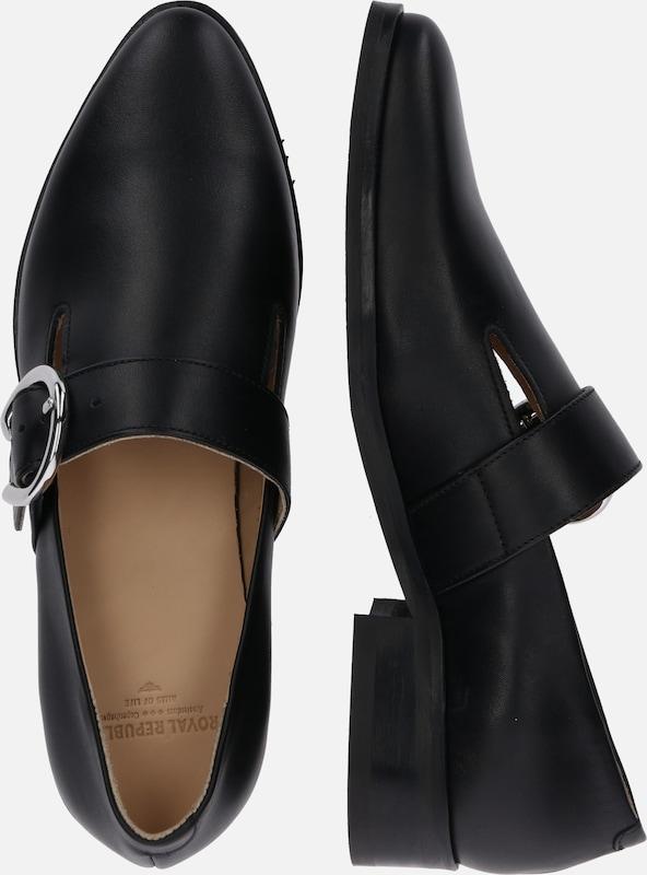 Royal Noir Chaussons Buckle Republiq 'prime En Shoe' 8wNmn0