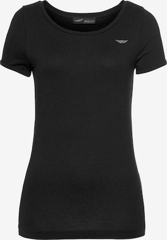 ARIZONA T-Shirt 'Arizona' in Schwarz
