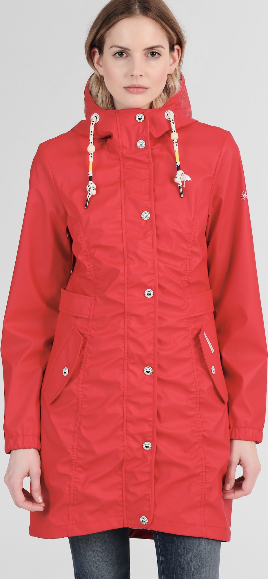 schmuddelwedda damen parka in rot about you. Black Bedroom Furniture Sets. Home Design Ideas