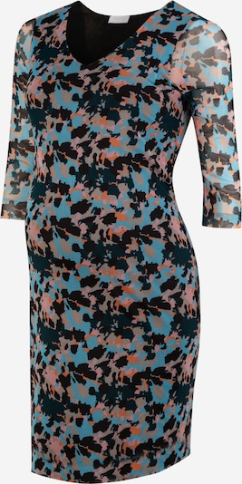MAMALICIOUS Kleid 'MLALLY 3/4 JERSEY ABK DRESS' in hellblau, Produktansicht