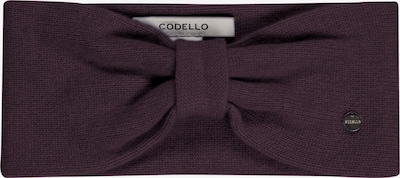 CODELLO Stirnband in aubergine, Produktansicht