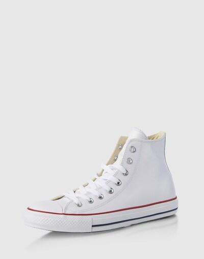 CONVERSE Sneaker 'All Star' in rotmeliert / schwarz / weiß: Frontalansicht