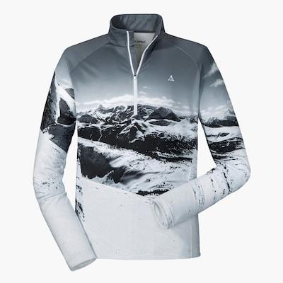 Schöffel Skishirt 'Trois Vallees' in hellgrau, Produktansicht