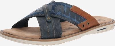 MUSTANG Pantofle - námořnická modř / hnědá, Produkt