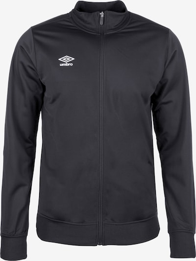 UMBRO Trainingsjacke 'Poly' in schwarz, Produktansicht