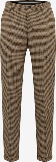 SELECTED HOMME Pantalon chino 'SLHSLIMTAPERED-FLEET PANTS B' en bleu marine / marron, Vue avec produit