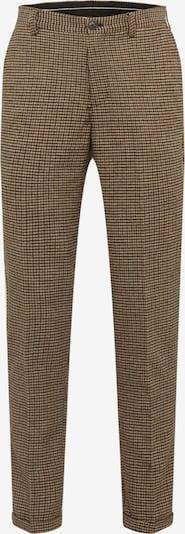 SELECTED HOMME Chino 'SLHSLIMTAPERED-FLEET PANTS B' in de kleur Navy / Bruin, Productweergave