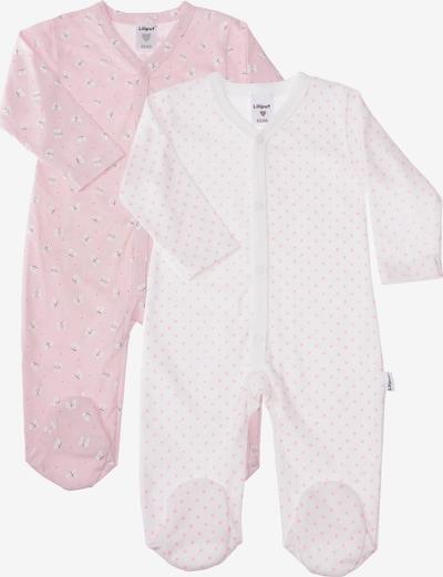 LILIPUT Strampler in rosa / weiß, Produktansicht